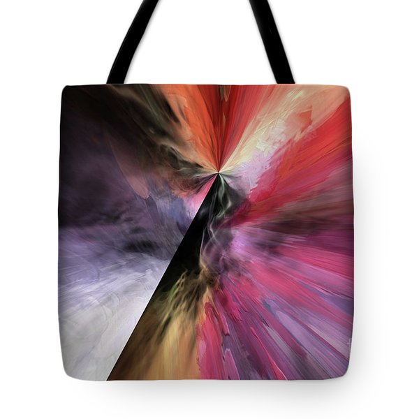 Tote Bag featuring the digital art Smite The Evil  by Margie Chapman