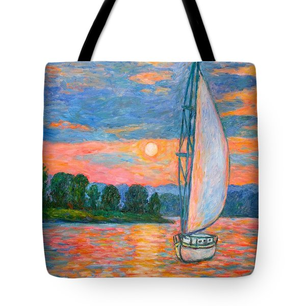 Smith Mountain Lake Tote Bag