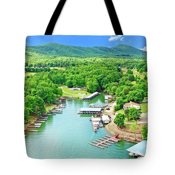 Smith Mountain Lake, Virginia. Tote Bag
