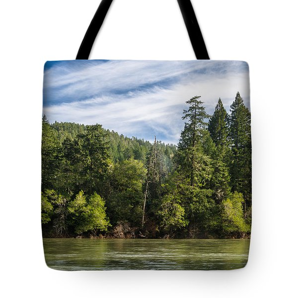 Smith River And Redwoods Tote Bag