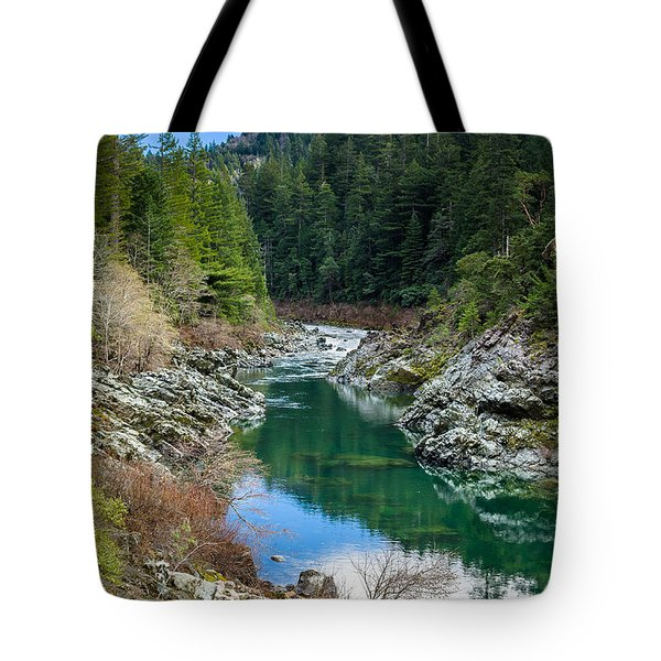 Smith River Tranquility Tote Bag