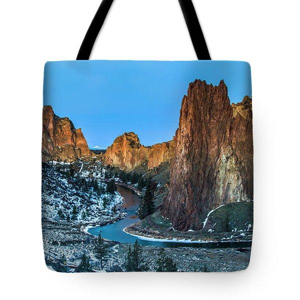 Smith Rock Dawn Tote Bag