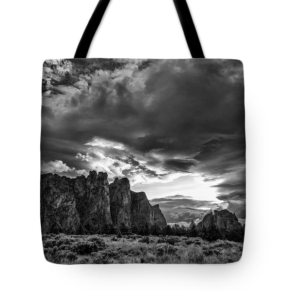 Smith Rock Fury Tote Bag
