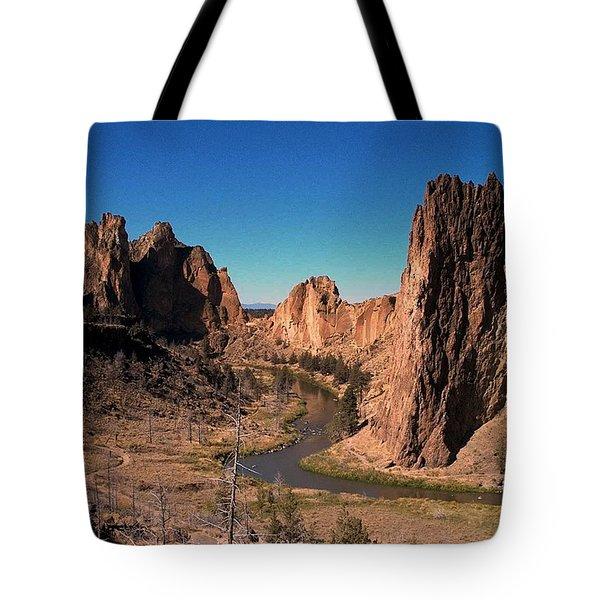 Smith Rock Tote Bag