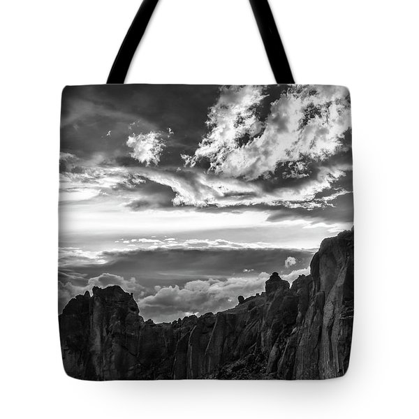 Smith Rock Skies Tote Bag