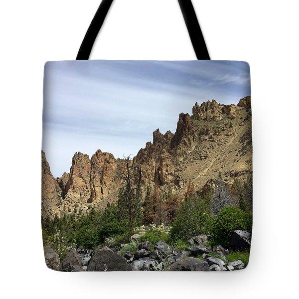 Smith Rocks Tote Bag