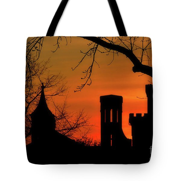 Smithsonian Castle Tote Bag by Luv Photography