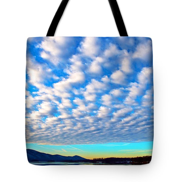 Sml Sunrise Tote Bag by The American Shutterbug Society