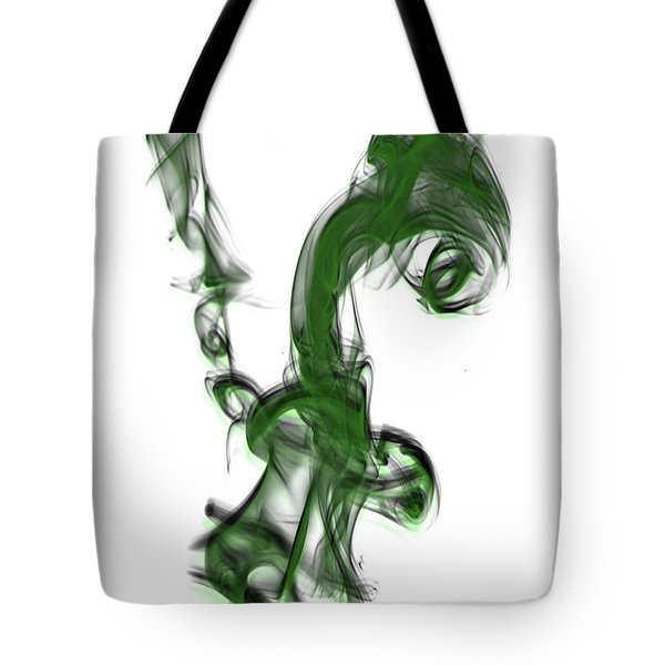 Smoke 01 - Green Tote Bag