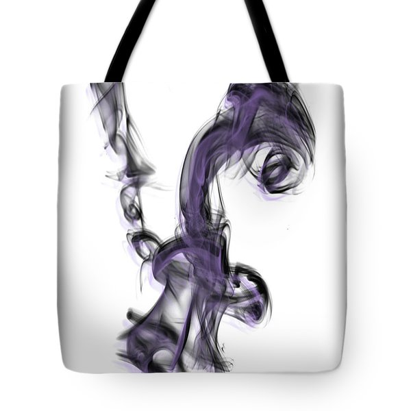 Smoke 01 Purple Tote Bag