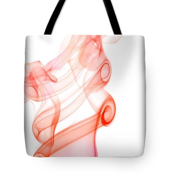 smoke IX Tote Bag by Joerg Lingnau