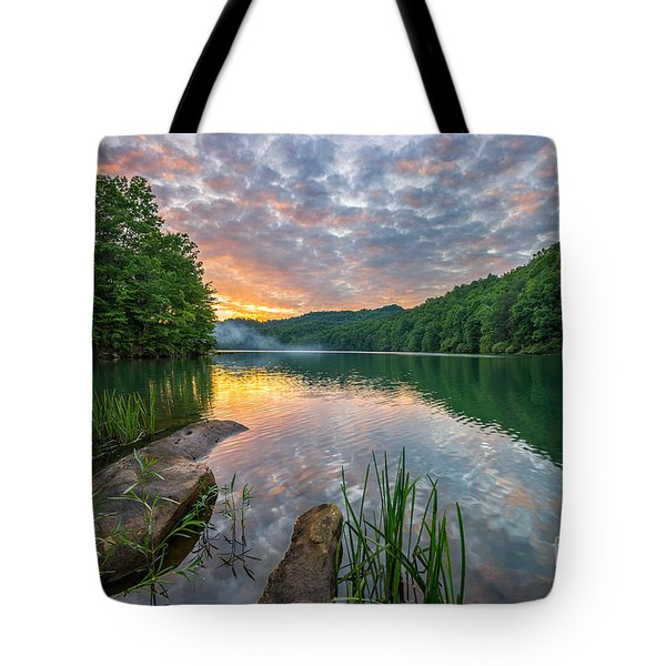 Smoke On The Water... Tote Bag by Anthony Heflin