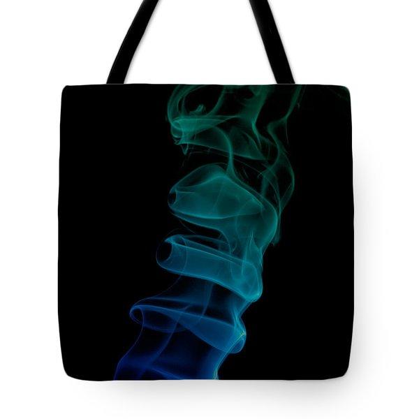 smoke XIX ex Tote Bag by Joerg Lingnau