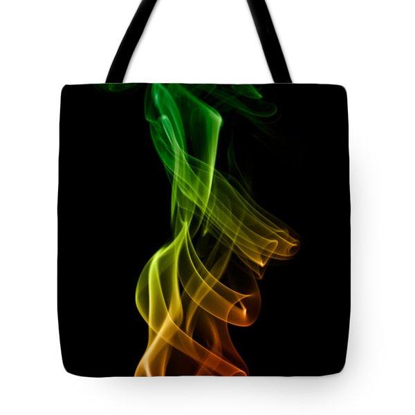 smoke XXII Tote Bag by Joerg Lingnau