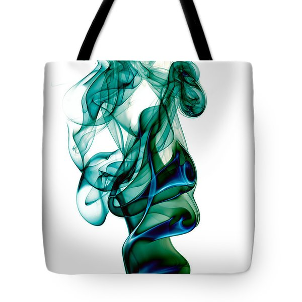 smoke XXIII Tote Bag by Joerg Lingnau