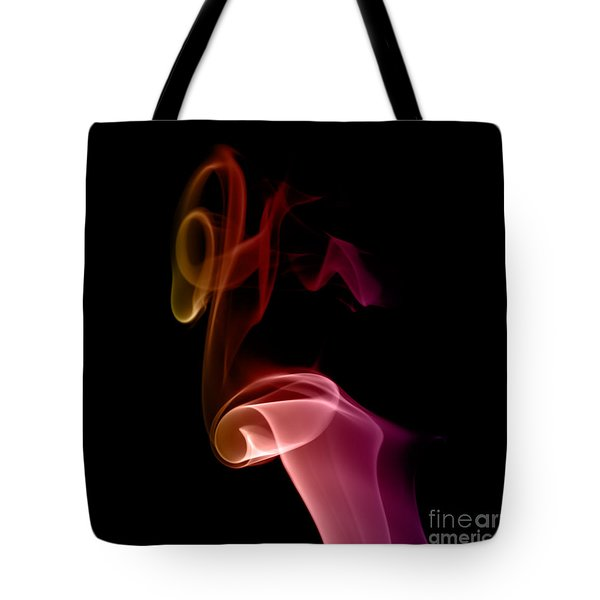 Tote Bag featuring the photograph smoke XXVII by Joerg Lingnau