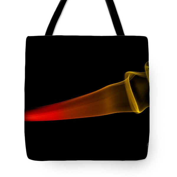 Tote Bag featuring the photograph smoke XXX by Joerg Lingnau