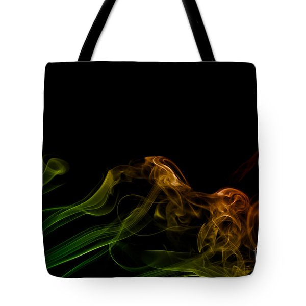 smoke XXXI Tote Bag by Joerg Lingnau