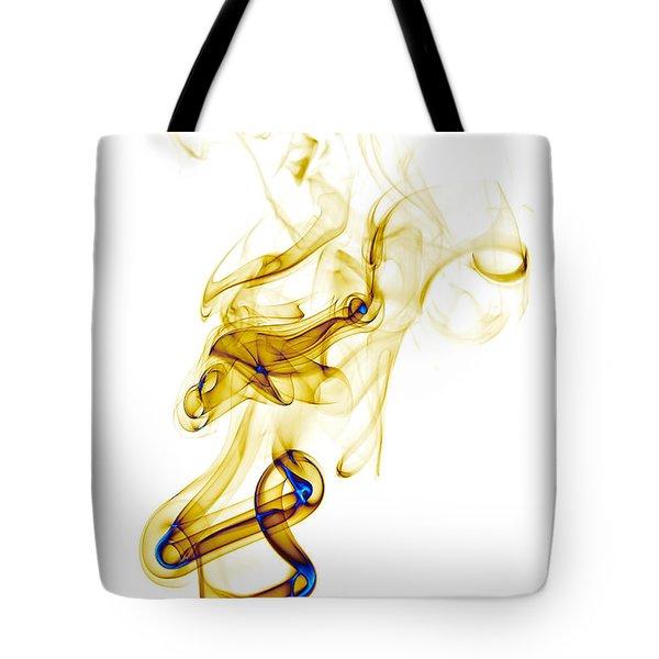 smoke XXXIX Tote Bag by Joerg Lingnau