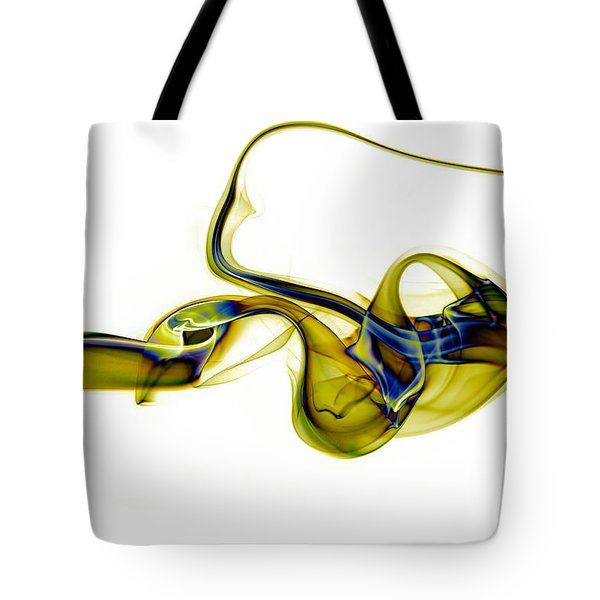 Tote Bag featuring the photograph smoke XXXVII by Joerg Lingnau