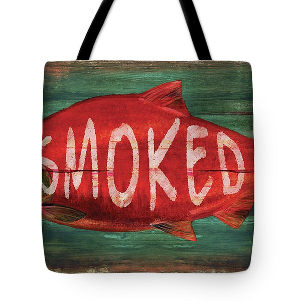 Smoked Fish Tote Bag