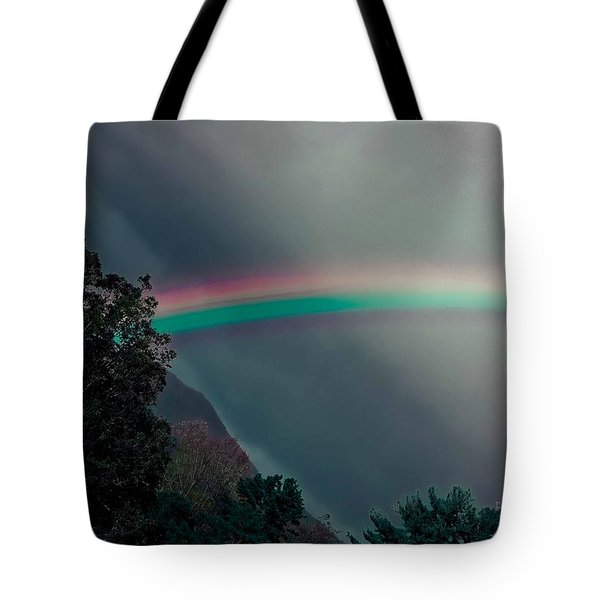 Smokey Mountain Majesty Tote Bag by DigiArt Diaries by Vicky B Fuller