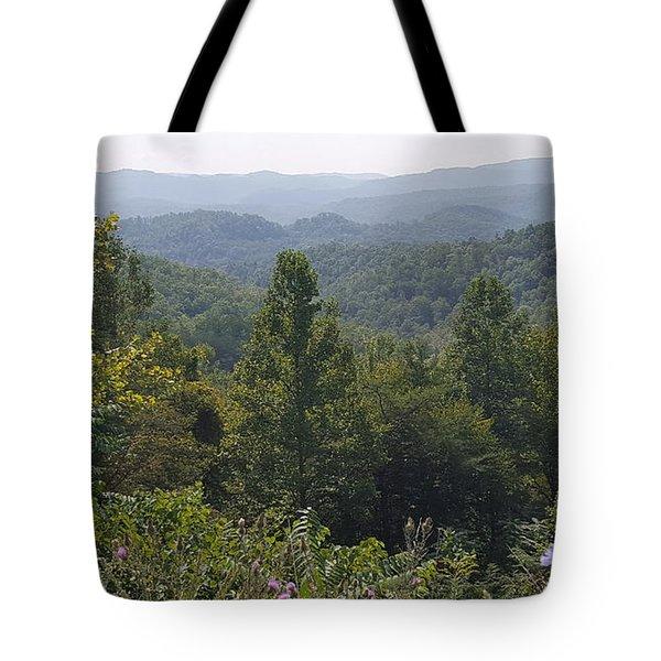 Smokey Mountain Sentinel Tote Bag