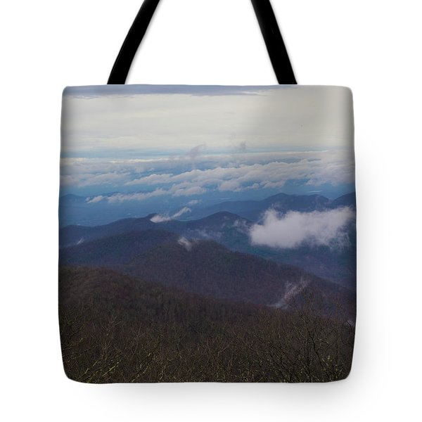 Smokey Mountains 5 Tote Bag