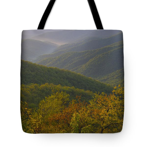 Smokey Mountains Tote Bag