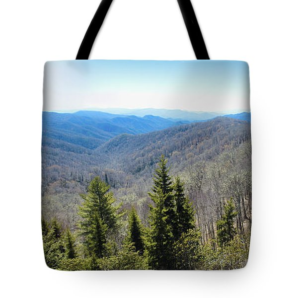 Smokey Mountains Pan Tote Bag