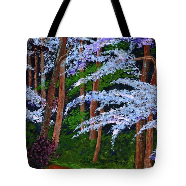 Smokey Mtn. Trail Tote Bag