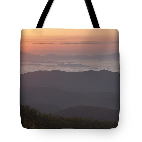 Smokey Sunset Tote Bag