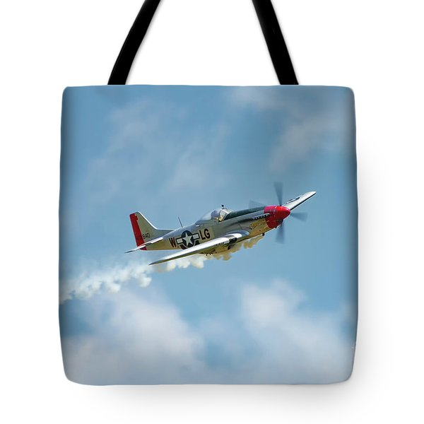 Tote Bag featuring the photograph Smokin 51 Color by Tommy Patterson