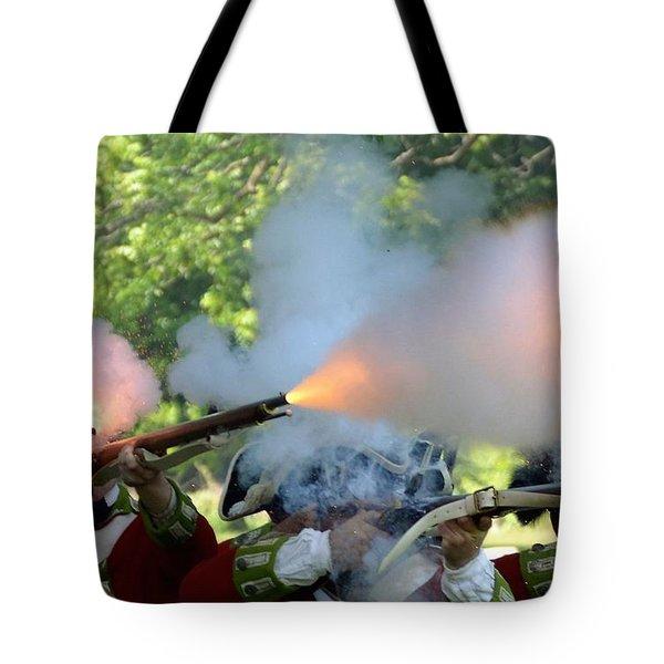 Smoking Guns Tote Bag
