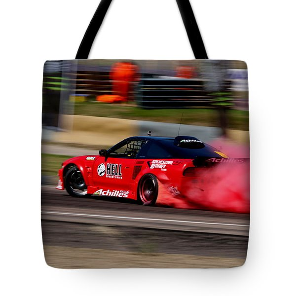 Smoking Red 2 Tote Bag