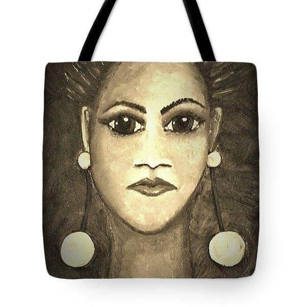 Smoking Woman 1 Tote Bag
