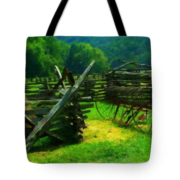 Smoky Mountain Farm 1900s Tote Bag