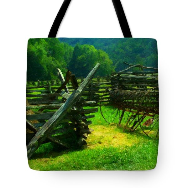Smoky Mountain Farm 1900s Tote Bag
