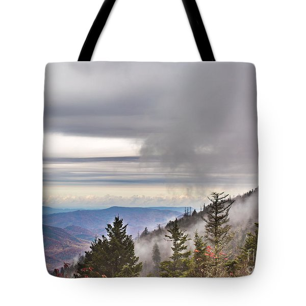 Smoky Mountain  Tote Bag