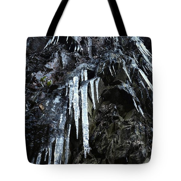 Smoky Mountain Ice Tote Bag