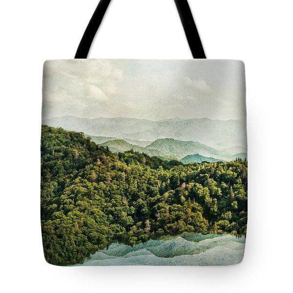 Smoky Mountain Reflections Tote Bag