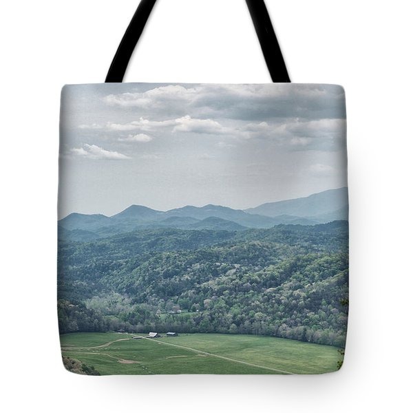 Smoky Mountain Scenic View Tote Bag