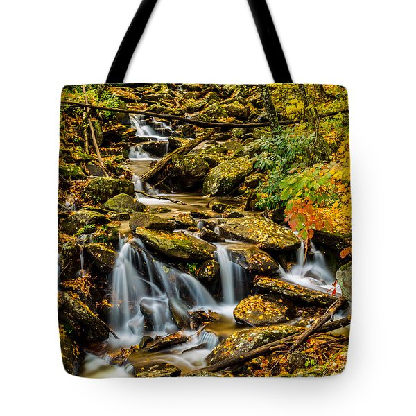 Smoky Mountain Stream II Tote Bag