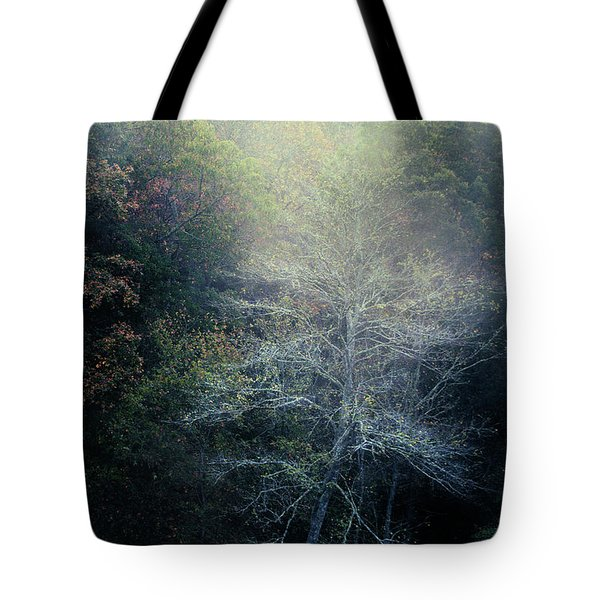 Smoky Mountain Trees Tote Bag