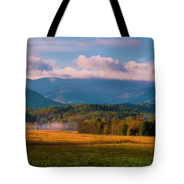 Smoky Mountains At Cades Cove I Tote Bag