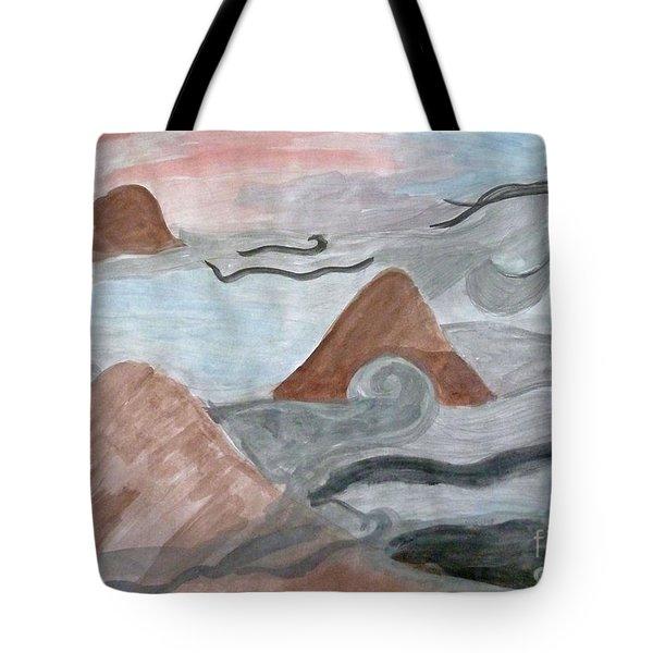 Smoky Mountains Tote Bag