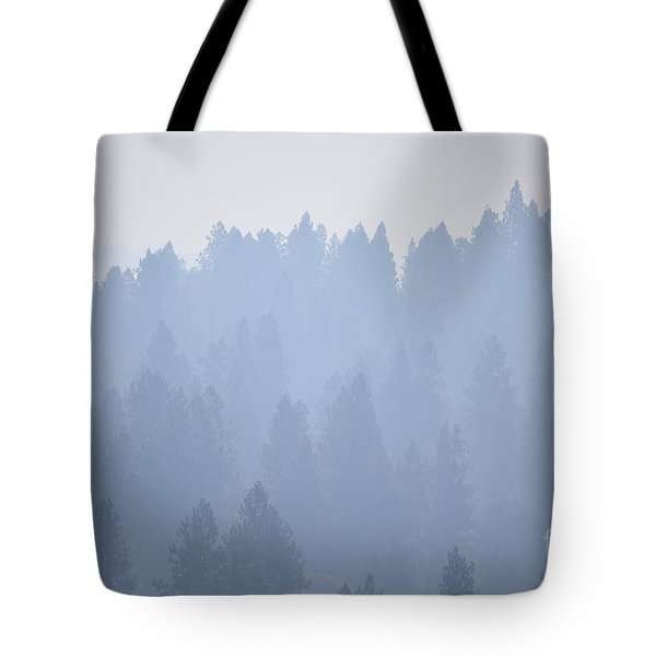 Smoky Pines Tote Bag