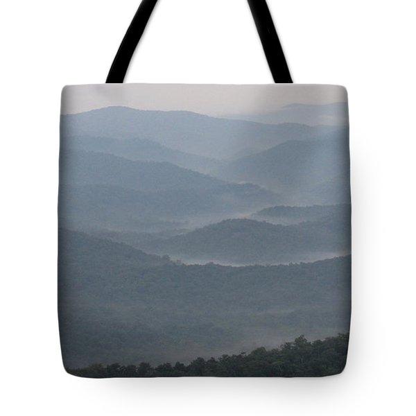Smoky Range Tote Bag