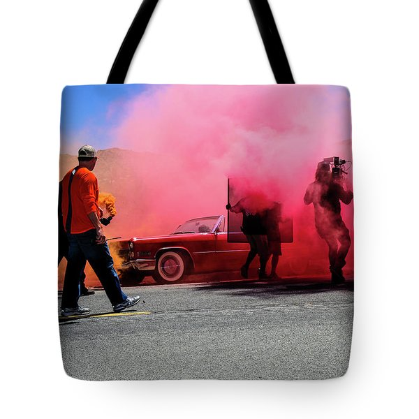 Smoky Tote Bag