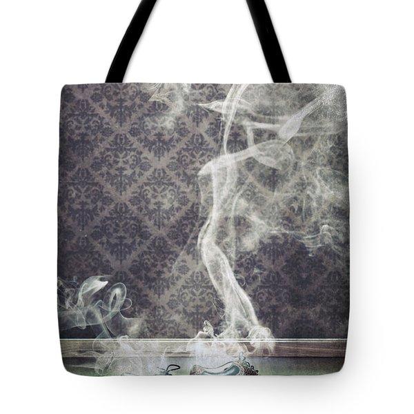 Smoky Shoes Tote Bag by Joana Kruse